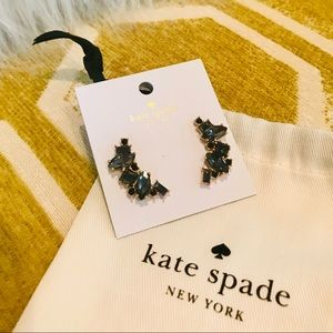 Kate Spade ♠️ Cluster Crawler Earrings